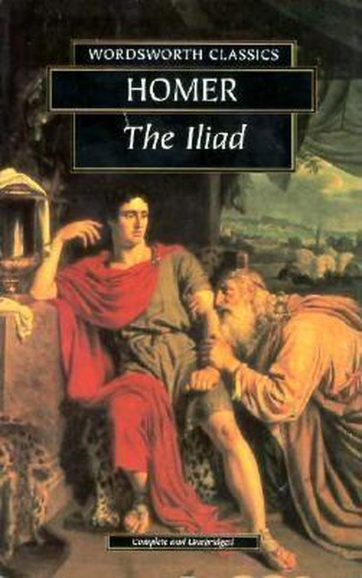 Boek cover The Iliad van Homer (Paperback)