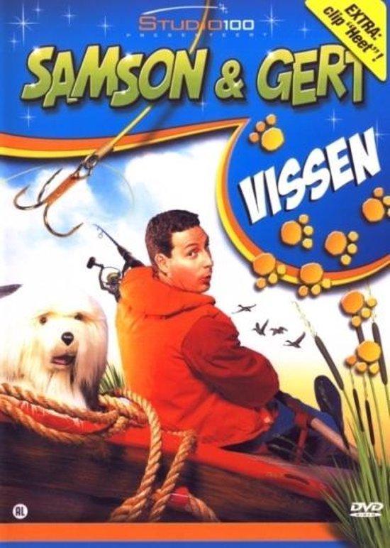 Cover van de film 'Samson & Gert - Vissen'