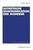 AEsthetische Kommunikation Der Moderne