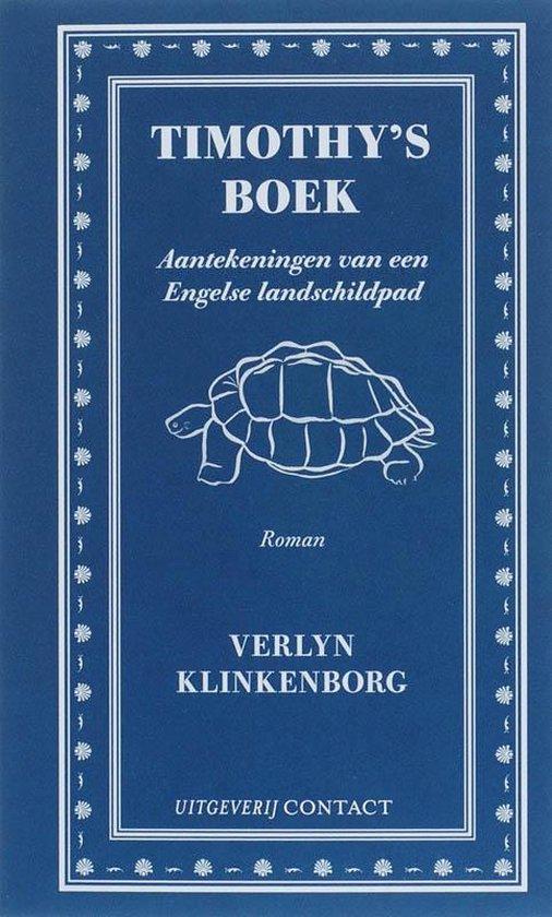 Timothy'S Boek - Verlyn Klinkenborg pdf epub