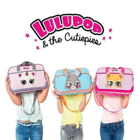 Lulupop EENHOORN Trolley Koffer Vakantie Kinderkoffer Handbagage Roze Lief - Lulupop & the Cutiepies