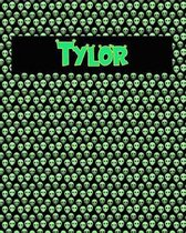 120 Page Handwriting Practice Book with Green Alien Cover Tylor