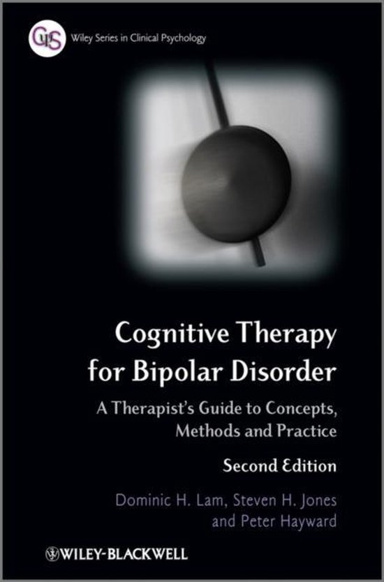 Boek cover Cognitive Therapy for Bipolar Disorder van Dominic H. Lam (Paperback)