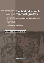 Boek cover Boom Juridische studieboeken - Hoofdstukken recht voor niet-juristen van