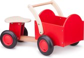 New Classic Toys - Bakfiets - Road Star - Rood - Zadelhoogte is 24 centimeter
