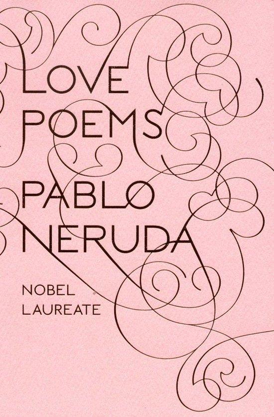 Boek cover Love Poems van Pablo Neruda (Onbekend)