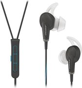 Bose QuietComfort 20 Apple - In-ear oordopjes met Noise Cancelling  - Zwart