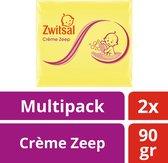 Zwitsal Crème Zeep - 2 x 90 g - Baby
