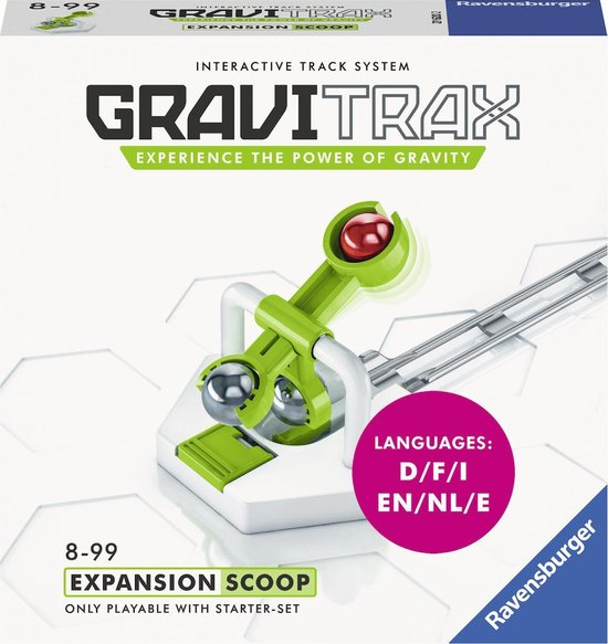 GraviTrax® Scoop Uitbreiding - Knikkerbaan