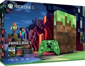 Xbox One S console 1 TB (Limited Edition) + Minecraft