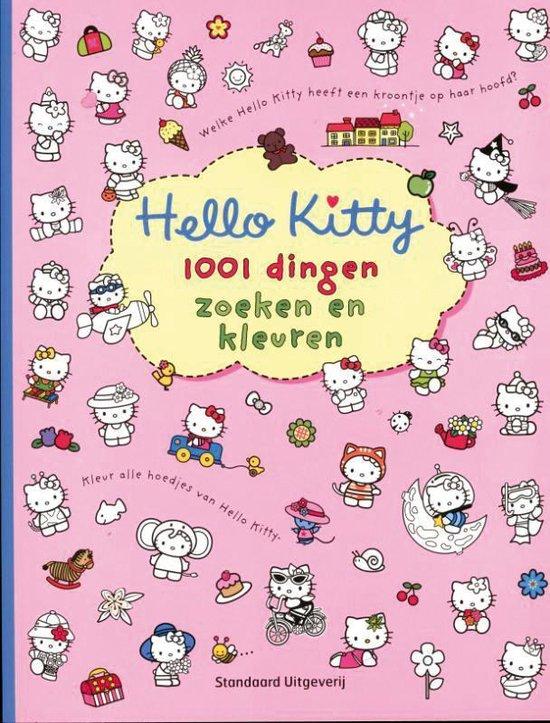 Cover van het boek '1001 dingen zoeken en kleuren' van  Nvt