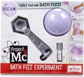 Project Mc2 Bath Fizz Experiment- Purple