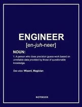 Engineer's Lined Notebook. Notes & Exercise Book (Blue)