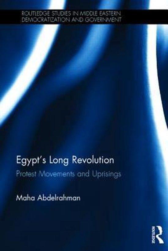 Boek cover Egypts Long Revolution van Maha Abdelrahman (Hardcover)