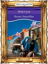 Omslag Wild Card (Mills & Boon Vintage 90s Historical)