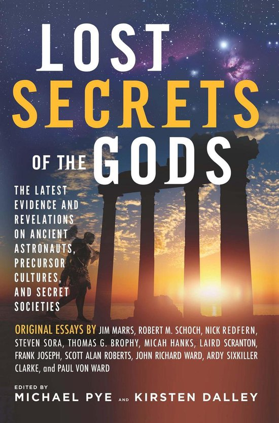 Boek cover Lost Secrets of the Gods van Jim Marrs (Onbekend)