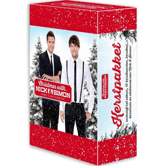 CD cover van Christmas With Nick & Simon (Speciale Cadeau Box) van Nick & Simon