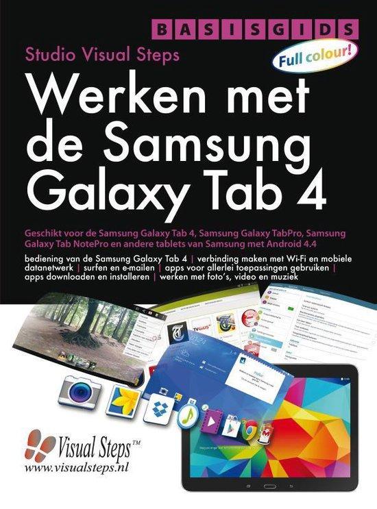 Basisgids werken met de Samsung Galaxy Tab 4 - Studio Visual Steps  