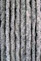 Cortenda Kattenstaart Vliegengordijn - 100x230 cm - Grijs/Wit