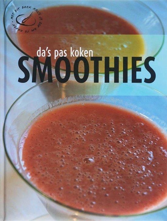 Da's pas koken - Smoothie's - none  