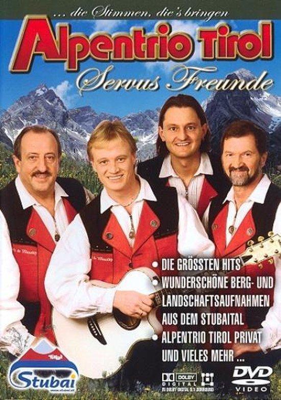 Cover van de film 'Alpentrio Tirol - Servus Freunde'