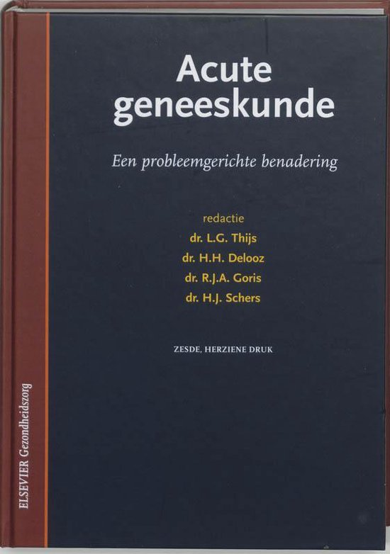 Acute geneeskunde - L. Thijs |