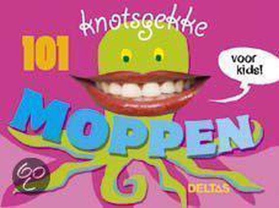 Cover van het boek '101 knotsgekke moppen voor kids !' van Jolanda Jager