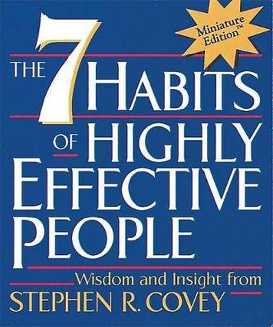 Boek cover The 7 Habits of Highly Effective People van dr stephen r covey (Hardcover)