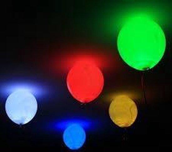 Led ballonnen 5 stuks ( geven licht in het donker )
