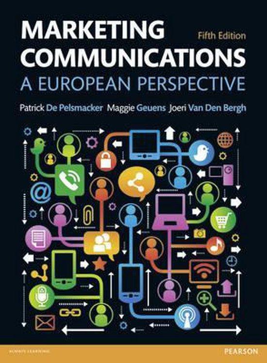 Boek cover Marketing Communications van Patrick De Pelsmacker (Paperback)