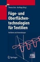 Fuge- Und Oberflachentechnologien Fur Textilien