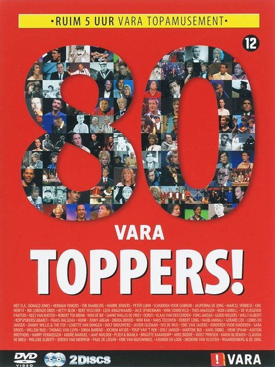 Cover van de film '80 Vara Toppers'