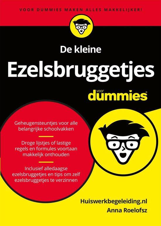 Voor Dummies - De kleine ezelsbruggetjes voor Dummies - Anna Roelofsz |