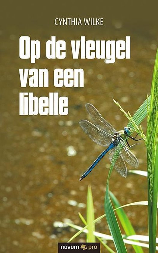 Op de vleugel van een libelle