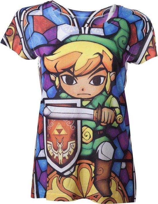 Nintendo - Zelda Female Sublimation T-Shirt - M