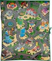 Afbeelding van Eddy Toys speelmat - verkeer - 120 x 100 x 0,3 cm - eva-schuim