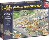 Afbeelding van Jan van Haasteren De Sluizen Puzzel 1000 Stukjes