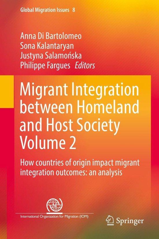 Boek cover Migrant Integration between Homeland and Host Society Volume 2 van  (Onbekend)