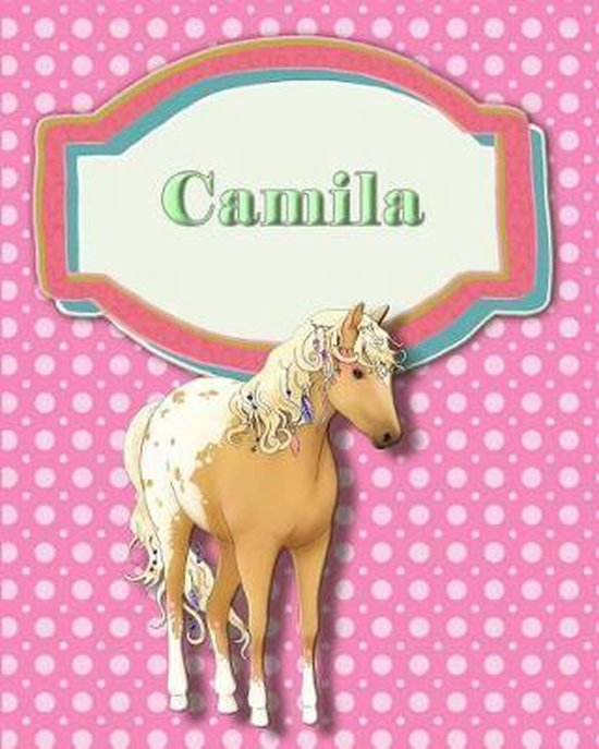 Handwriting and Illustration Story Paper 120 Pages Camila