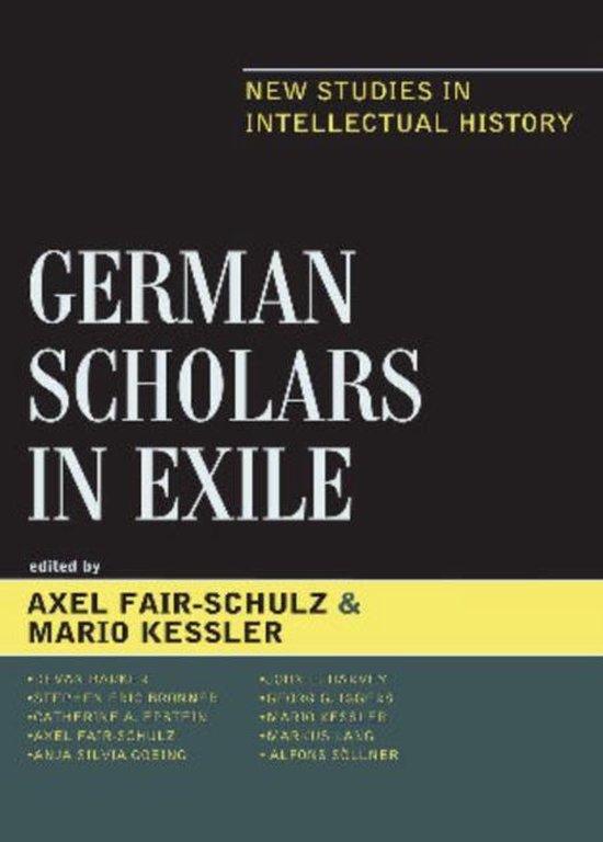 German Scholars in Exile