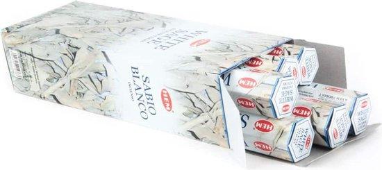 HEM Wierook - White Sage - Slof (6 pakjes/120 stokjes)