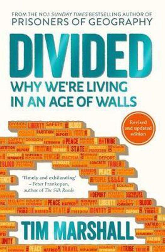 Boek cover Divided van Tim Marshall (Paperback)