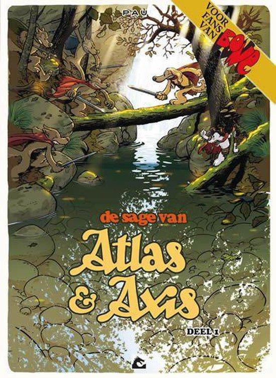 Sage van atlas & axis hc01. deel 01 - Pau  