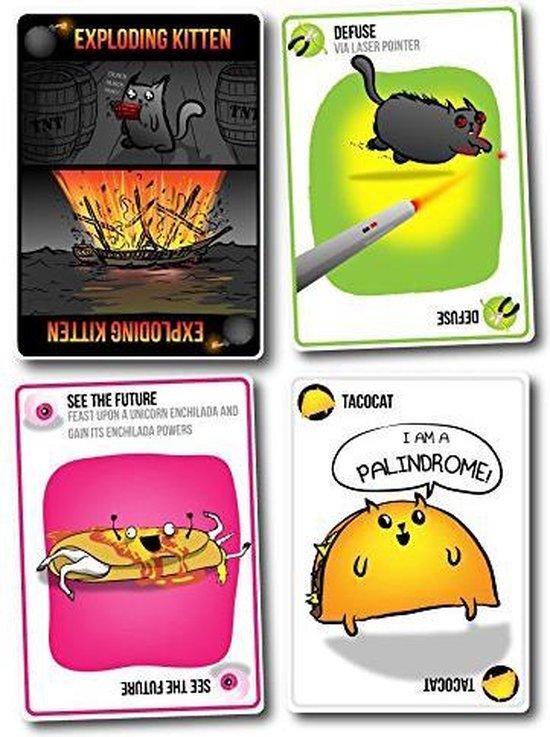 Exploding Kittens Original Edition - Engelstalig Kaartspel - Exploding Kittens