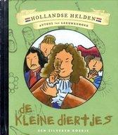 Hollandse Helden 14 - Antoni van Leeuwenhoek - Zilveren boekje - De kleine diertjes