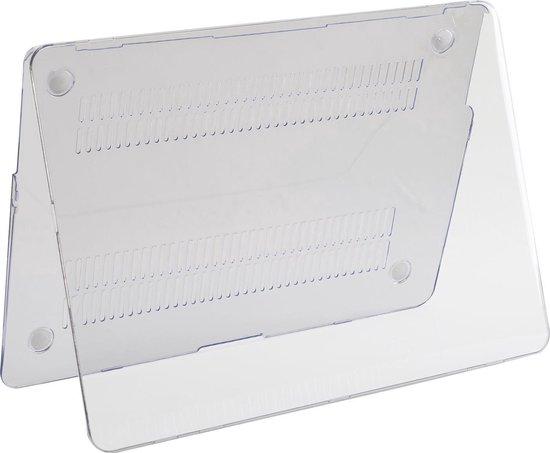Macbook Air 13 inch (modellen t/m 2017)  A1369/A1466 - Laptop Cover - Clear Transparant