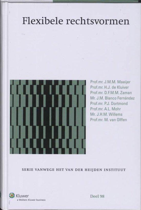 Flexibele rechtsvormen - J.M.M. Maeijer  