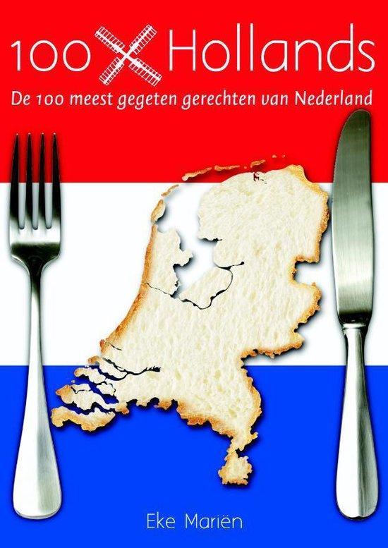 Cover van het boek '100X Hollands' van Eke Mariën