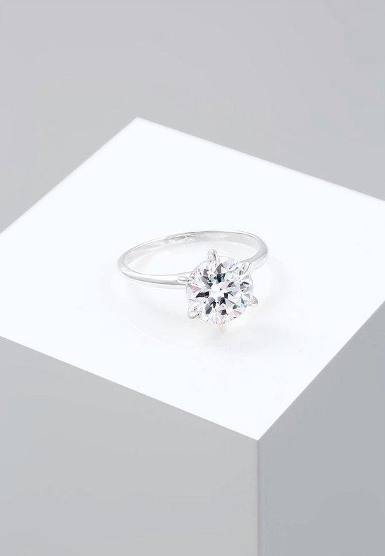 Ringen Verlovingsring Swarovski® Kristal 925 Sterling Zilver