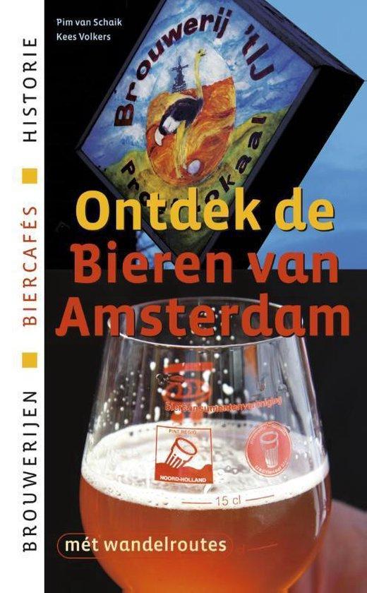Cover van het boek 'Ontdek de bieren van Amsterdam'